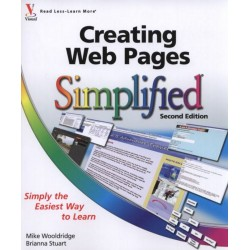 Creating Web pages Simplified Book