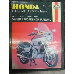 Honda CX GL 500 & 650 V Twin Workshop Manual