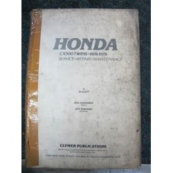 Honda CX 500 Twin  Workshop Manual