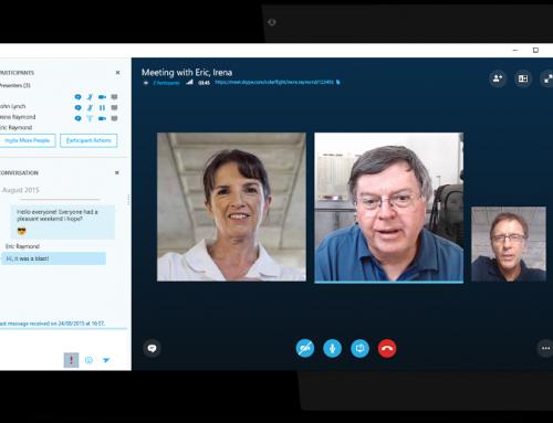 Skype…. I'm confused….